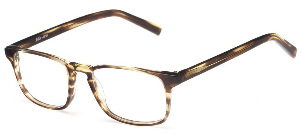 Grove Thin Plastic Eyeglass Frames felix + iris