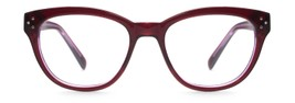 Angle of Allisonville in Burgundy + Violet, Women's and Men's