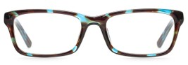 Angle of Astor in Teal Tortoise, Women's and Men's