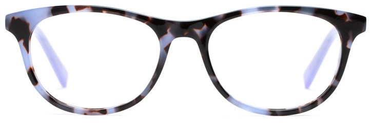 Angle of Avery in Lilac Tortoise + Lilac, Women's and Men's