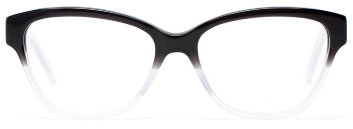 Angle of Brittany in Black + Smoke Fade, Women's and Men's