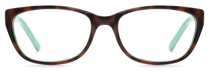 Angle of Jordan in Tortoise + Mint, Women's and Men's