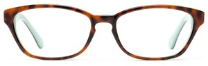 Angle of Lesley in Tortoise + Mint, Women's and Men's
