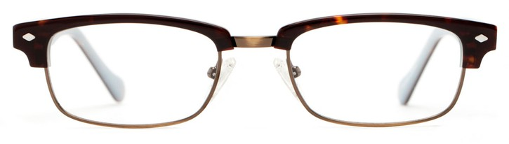 Angle of Walker in Tortoise + Copper, Women's and Men's